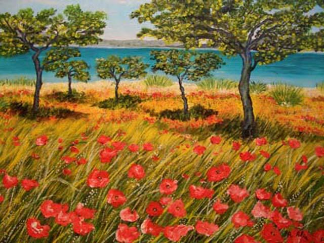 I quadri catalogo for Quadri a olio fiori